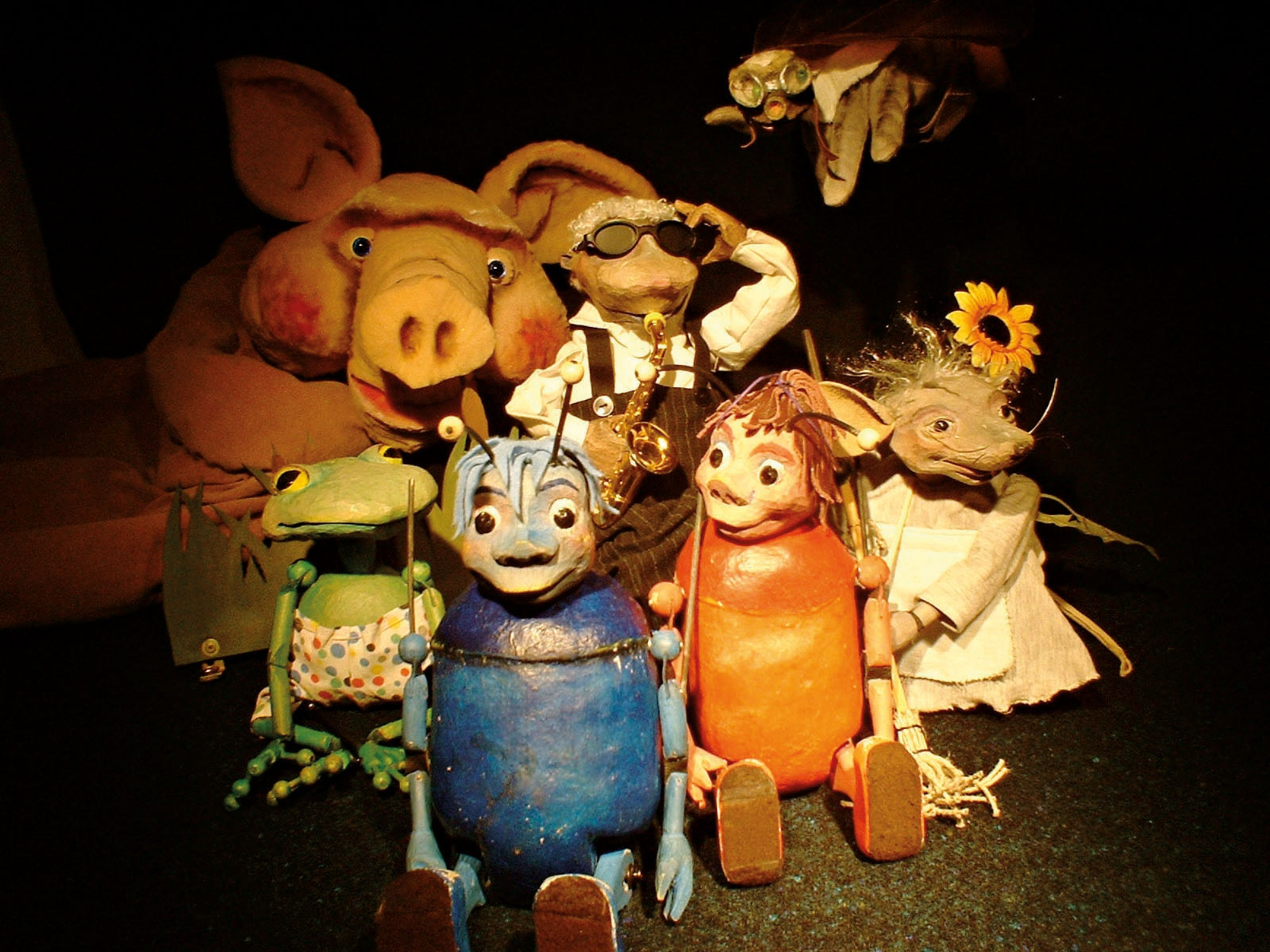 Mapili Theater. Das mobile Puppentheater für Kinder.